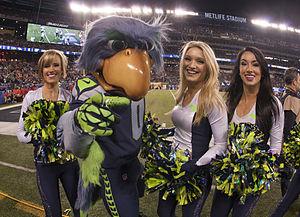 Sea Gals - Blitz and Seagals at Super Bowl XLVIII