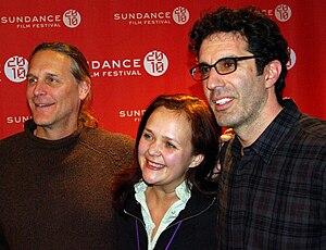 Yana Gorskaya - Gorskaya (center) with Sean Welch and Jeffrey Blitz at the 2010 Sundance film festival