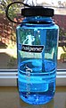 Blue 1000 ml Nalgene everyday wide mouth bottle 2.JPG