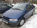 Blue Fiat Siena HL 1,4 in Kraków (1).jpg