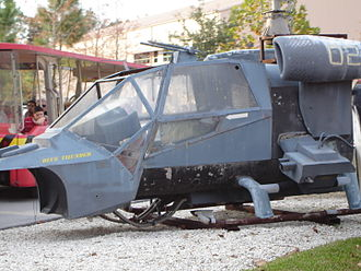 Blue Thunder - A mock-up of Blue Thunder, as part of the Studio Backlot Tour of Disney's Hollywood Studios, Florida