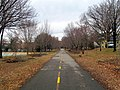 Bluemont Junction Trail at Fields Park, January 2017.JPG