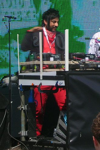 Bobby Friction - Bobby DJing in Preston for a Radio 1 event