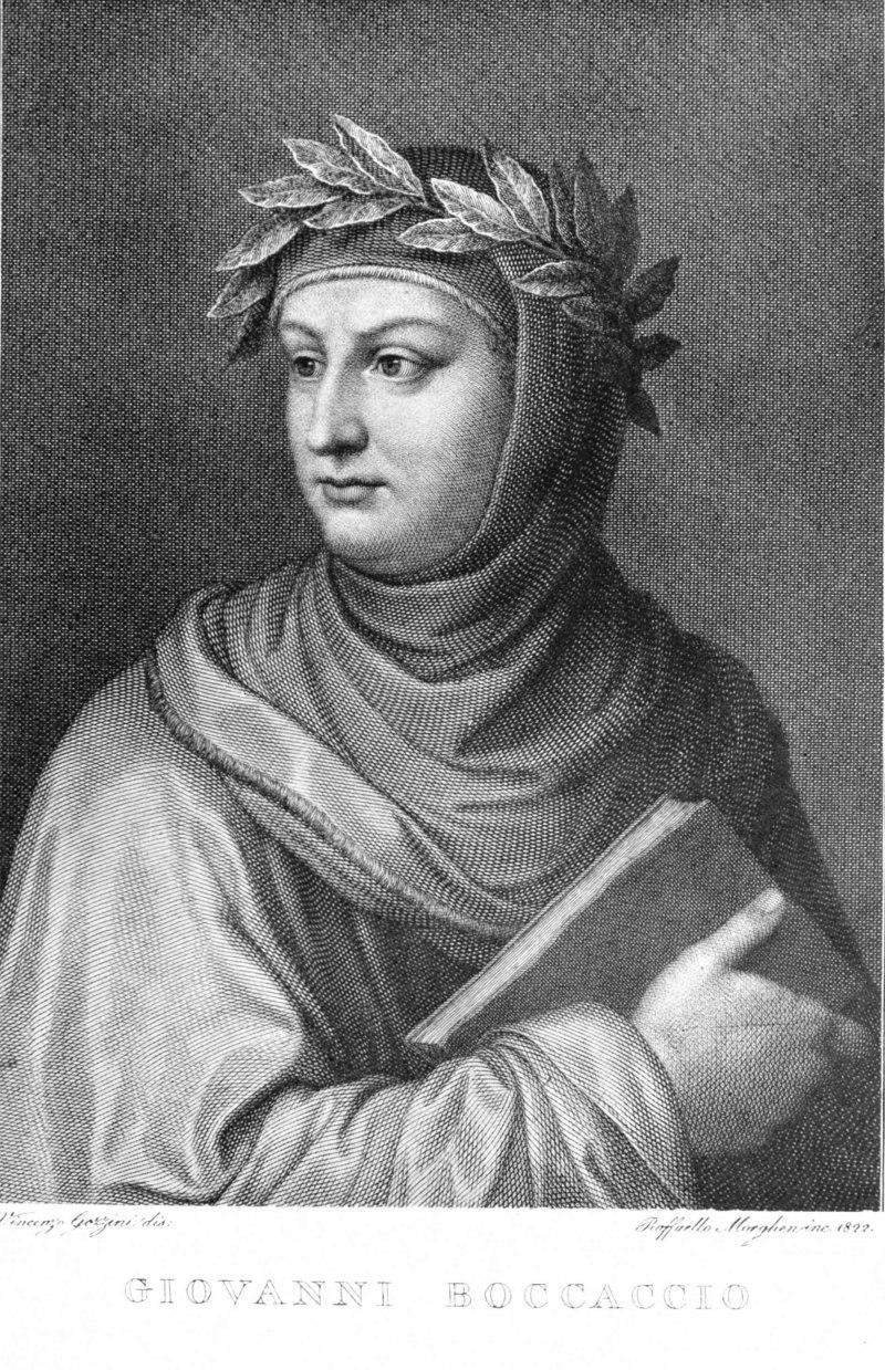 Boccaccio by Morghen