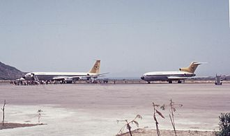 Rhodes Air Base - The airport in 1972