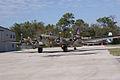 Boeing B-17G-85-DL Flying Fortress Nine-O-Nine Landing Taxi 46 CFatKAM 09Feb2011 (14797317138).jpg