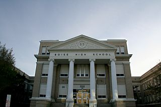 Boise High School United States national historic site