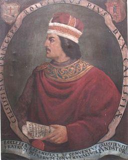 Bolesław the Pious Duke of Greater Poland