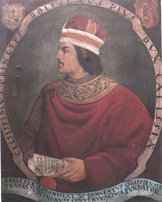 Duke of Masovia - Image: Boleslaw Pobożny
