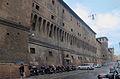 Bologna.Via Ugo Bassi.Biblioteca Salaborsa.mur Nord exterieur.jpg