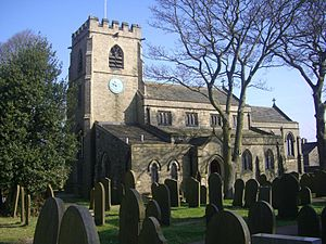 St Mary's Church, Bolsterstone - The church.