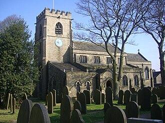 St Mary's Church, Bolsterstone - The church.