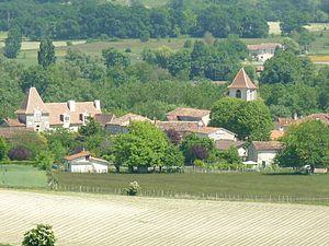Bonnes, Charente - Image: Bonnes vue