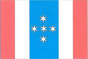 Borovník - Image: Borovník vlajka