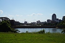Bossier City September 2015 01 (Shreveport skyline).jpg