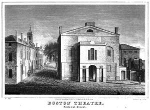 Federal Street Theatre - Federal Street Theatre, Boston