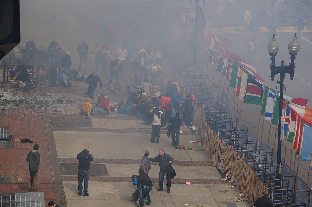 Image illustrative de l'article Double attentat du Marathon 2013 de Boston