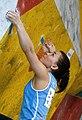 Boulder Worldcup Vienna 28-05-2010 quali-w101 Dinara Fakhritdinova.jpg