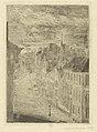 Boulevard van Iseghem, Ostend, print by James Ensor, 1889, Prints Department, Royal Library of Belgium, S. II 53363.jpg