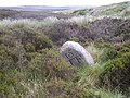 Boundary Stone looking down Hole Syke - geograph.org.uk - 190920.jpg