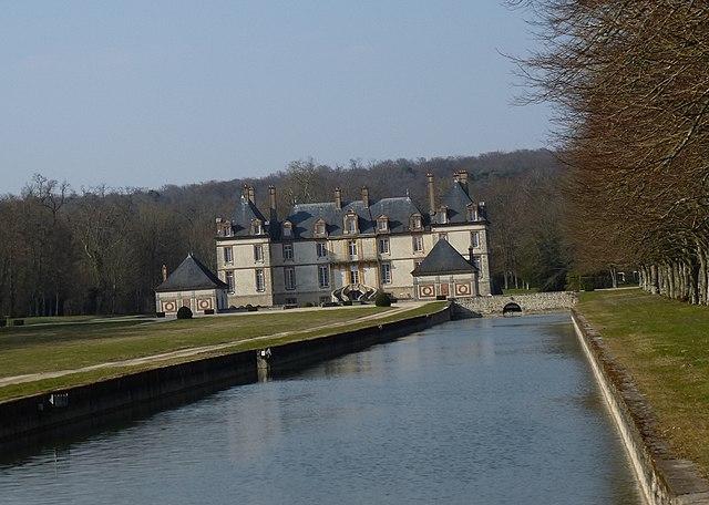 Bourron-Marlotte France  City new picture : Français : Château de Bourron Marlotte. département de la Seine et ...
