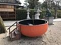 Bowl boat in Tanekashi Shrine in Sumiyoshi Grand Shrine.jpg