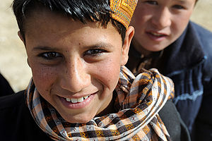 Boys in Ghazni
