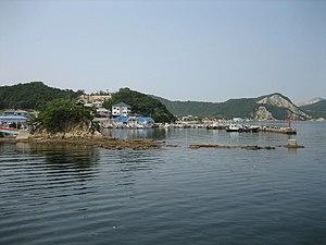 Ieshima, Hyōgo - Image: Bozeshima Harbour