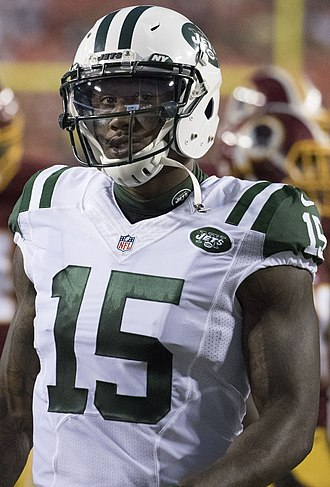 Brandon Marshall - Marshall with the New York Jets in 2016