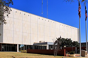 Brazos County, Texas - Image: Brazos county texas courthouse 2014
