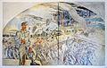 Bregenz, Kommandogebäude Oberst Bilgeri, Fresken von Martin Häusle-02.jpg
