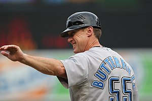 Brian Butterfield - Butterfield as third base coach for the Toronto Blue Jays in 2011