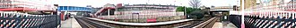 Brighouse railway station - Image: Brighouse train station 360