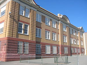 Britannia Secondary School - The south side of the school