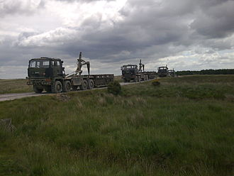 Demountable Rack Offload and Pickup System - MMLC near Catterick, 2009