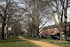 Brook Green - Image: Brook Green Park in London in spring 2013 (4)