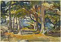 Brooklyn Museum - Cedar Grove by the Sea - Paul Dougherty - overall.jpg