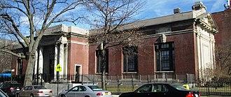 Raymond F. Almirall - Park Slope Branch Library, Brooklyn, 1906.