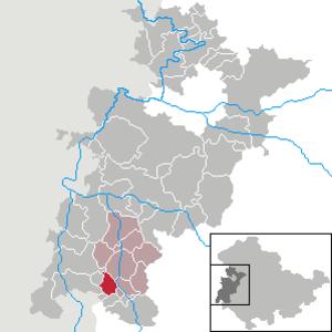 Brunnhartshausen - Image: Brunnhartshausen in WAK