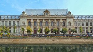 Palace of Justice, Bucharest - The Palace of Justice in 2016