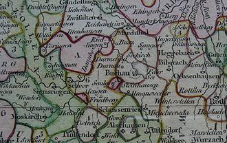 Buchau Abbey - Location of Buchau Abbey