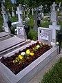 Bucuresti, Romania, Cimitirul Bellu Catolic. Mormantul compozitorului Dan Iagnov. 1 Mai 2017.jpg