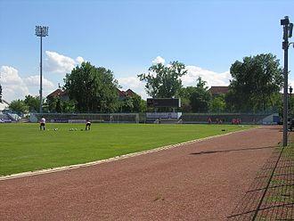 Budai II. László Stadion - Image: Budai II László Stadion 2013 No 1