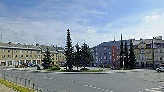 Budišov nad Budišovkou - Town square