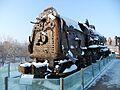 Bullet-ridden locomotive (4255588505).jpg