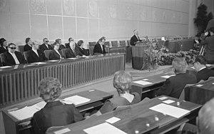 Hörspielpreis der Kriegsblinden - 1965 award ceremony for the Kriegsblindenpreis