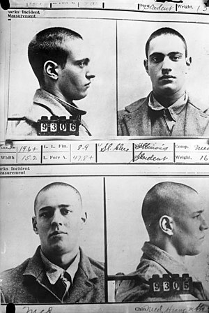 Leopold and Loeb - Leopold (top) and Loeb (bottom)