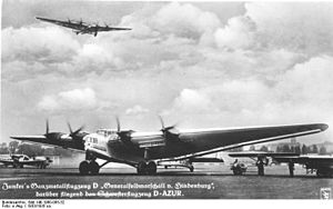 Junkers G.38 - Junkers G 38s.