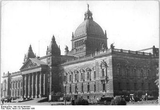 Museum der bildenden Künste - Dimitroffmuseum 1956 (today Federal Administrative Court)