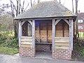 Bus Shelter on B1121 Main Road, Carlton - geograph.org.uk - 1224261.jpg